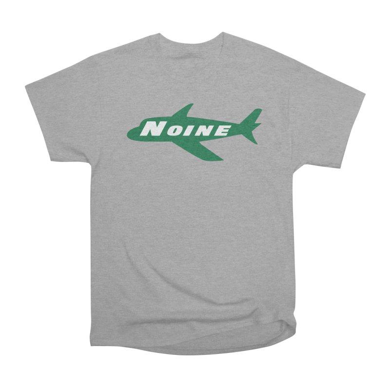 A New York Noine Men's Heavyweight T-Shirt by Mike Hampton's T-Shirt Shop