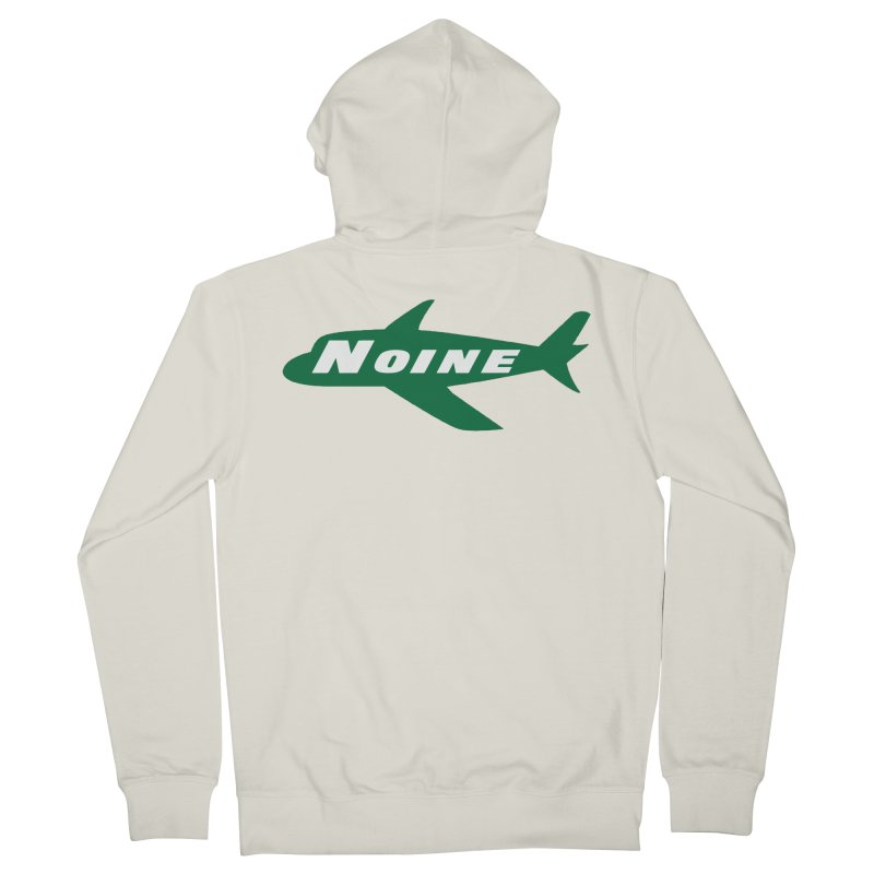 A New York Noine Women's French Terry Zip-Up Hoody by Mike Hampton's T-Shirt Shop