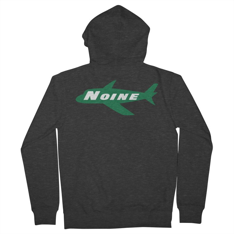 A New York Noine Men's French Terry Zip-Up Hoody by Mike Hampton's T-Shirt Shop