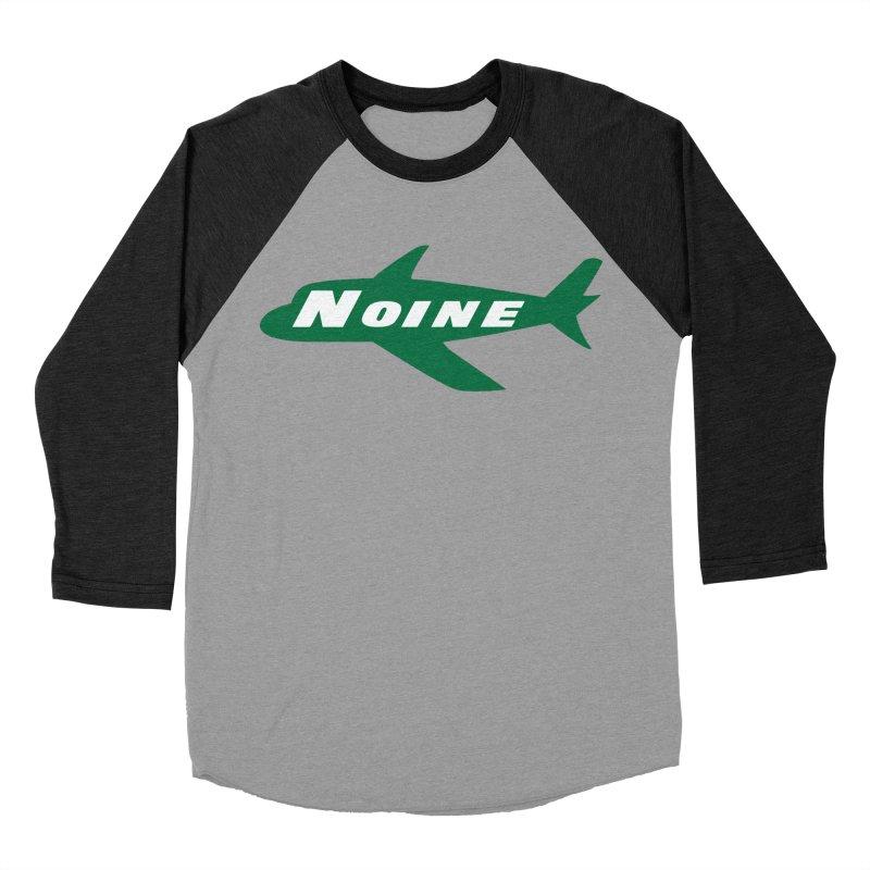 A New York Noine Women's Baseball Triblend Longsleeve T-Shirt by Mike Hampton's T-Shirt Shop
