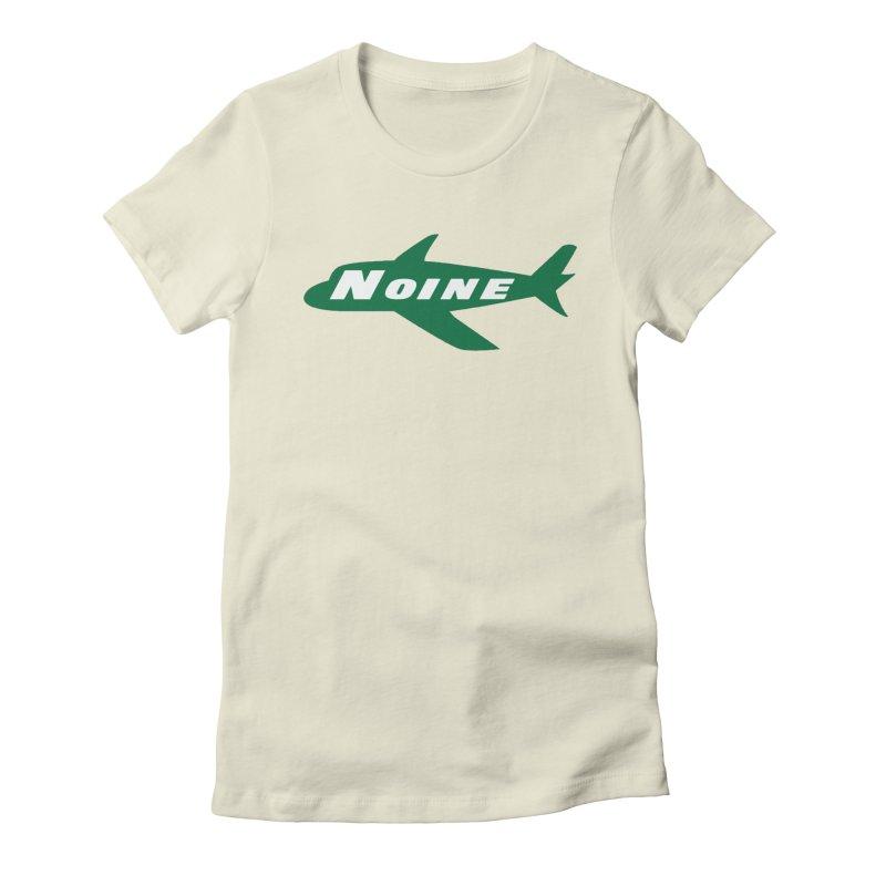 A New York Noine Women's Fitted T-Shirt by Mike Hampton's T-Shirt Shop