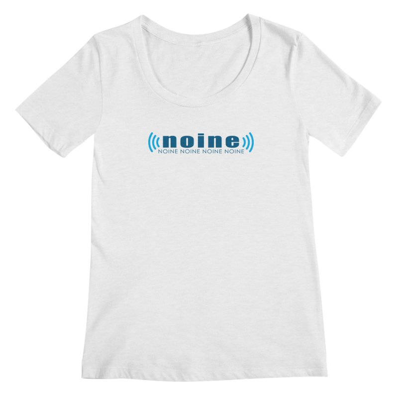 Noine XM Women's Regular Scoop Neck by Mike Hampton's T-Shirt Shop