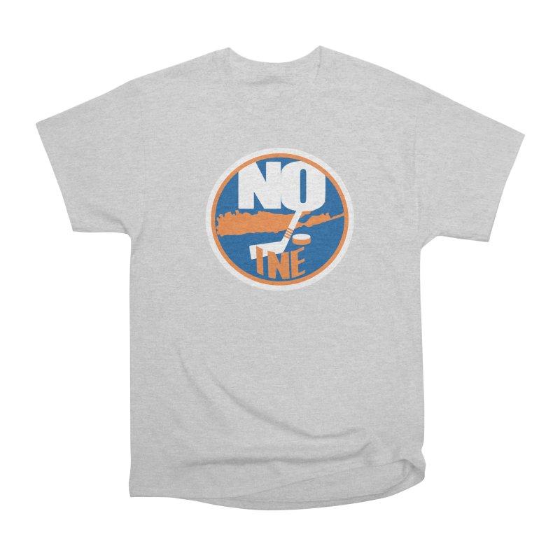 A Long Island Noine Women's Heavyweight Unisex T-Shirt by Mike Hampton's T-Shirt Shop