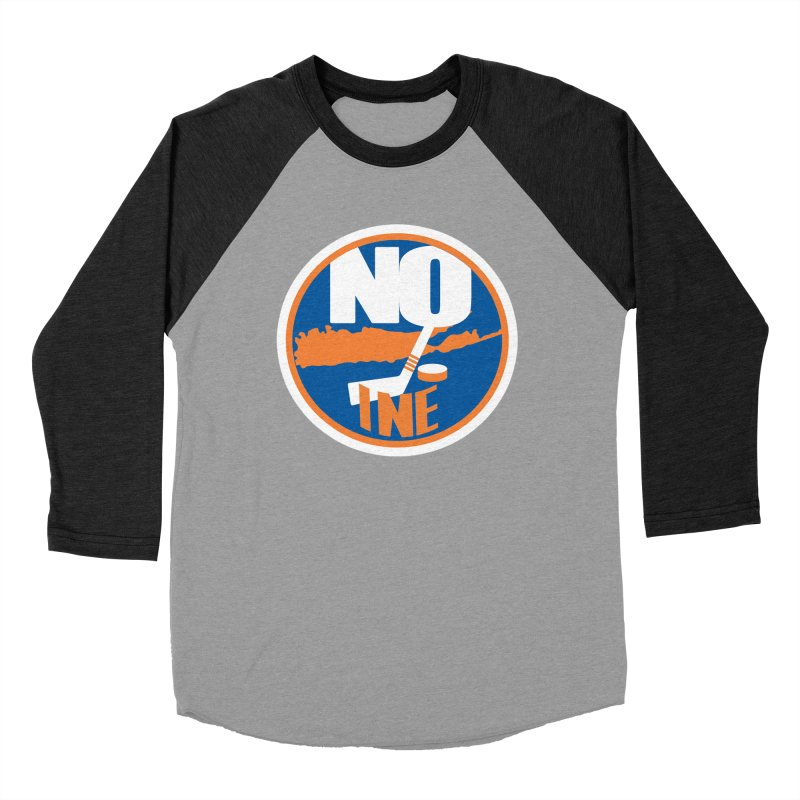 A Long Island Noine Women's Baseball Triblend Longsleeve T-Shirt by Mike Hampton's T-Shirt Shop