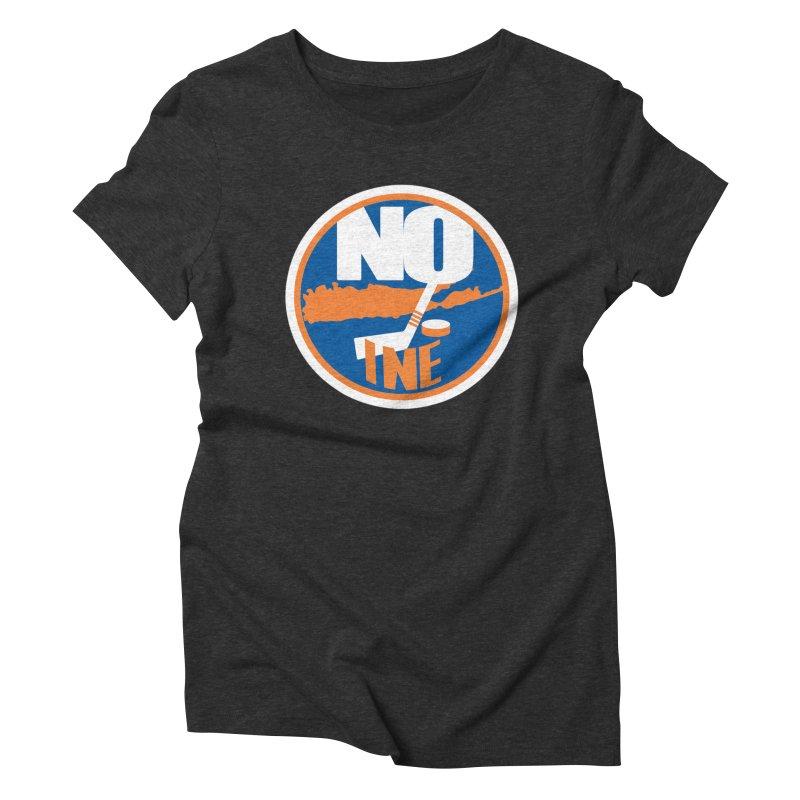 A Long Island Noine Women's Triblend T-Shirt by Mike Hampton's T-Shirt Shop