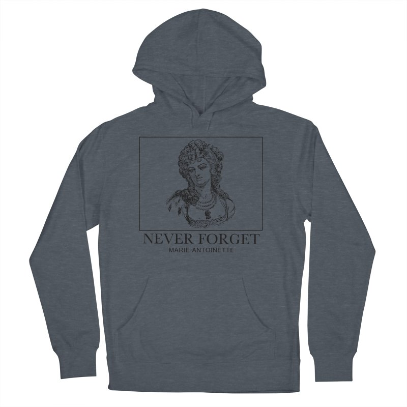 Never Forget Men's French Terry Pullover Hoody by Mike Hampton's T-Shirt Shop