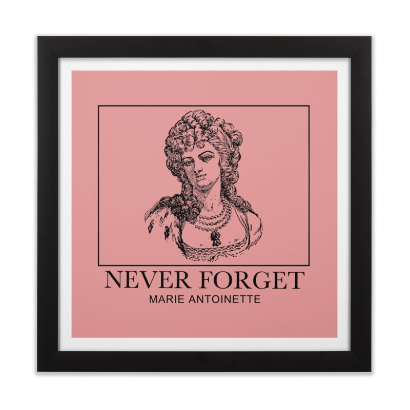 Never Forget Home Framed Fine Art Print by Mike Hampton's T-Shirt Shop