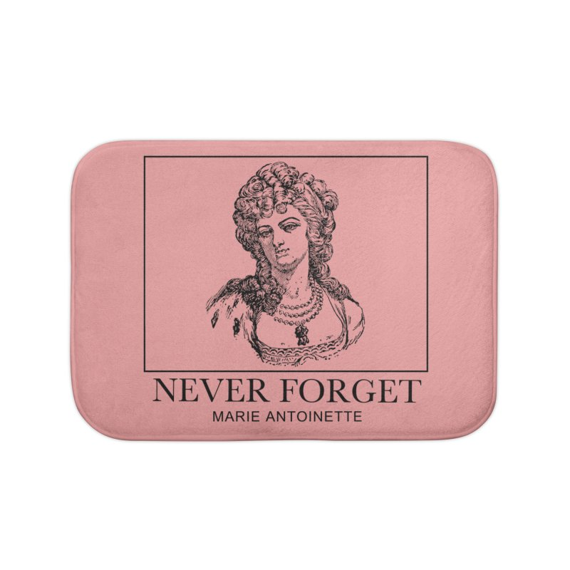 Never Forget Home Bath Mat by Mike Hampton's T-Shirt Shop