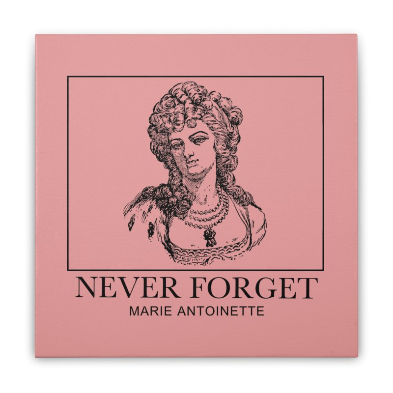 Never Forget Home Stretched Canvas by Mike Hampton's T-Shirt Shop