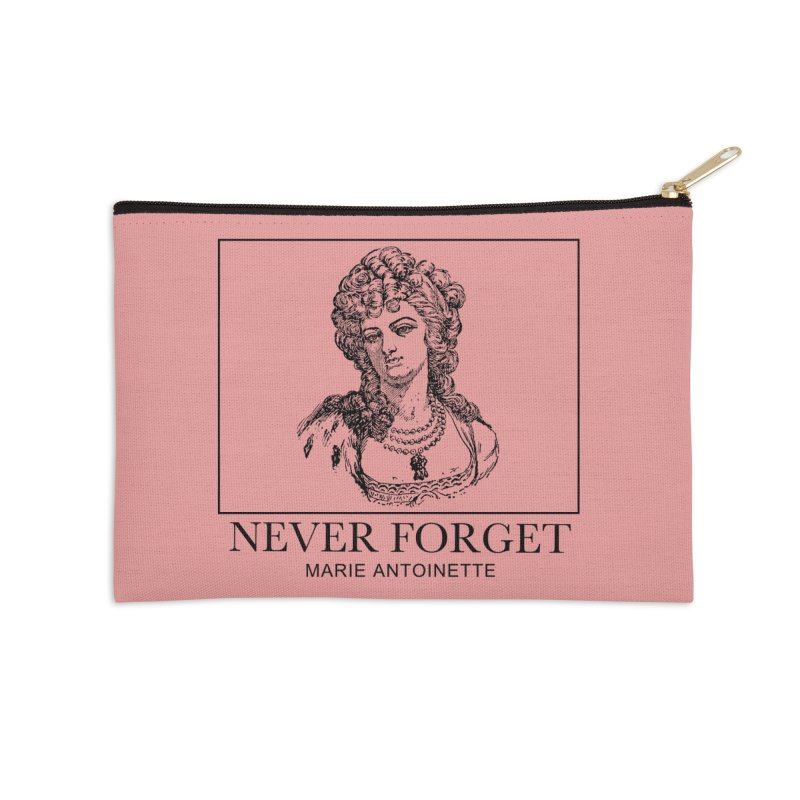 Never Forget Accessories Zip Pouch by Mike Hampton's T-Shirt Shop