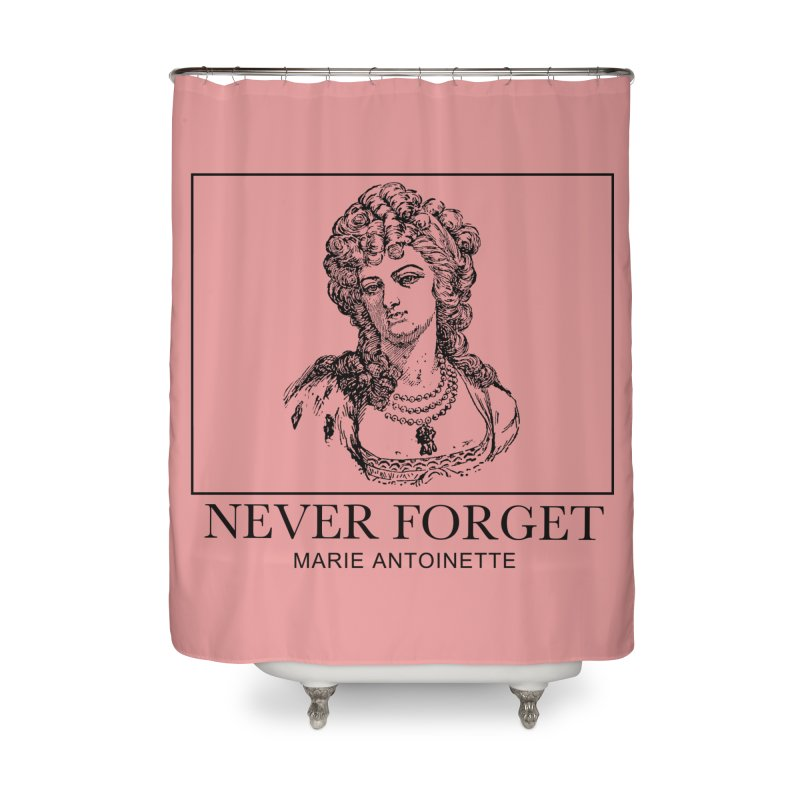 Never Forget Home Shower Curtain by Mike Hampton's T-Shirt Shop