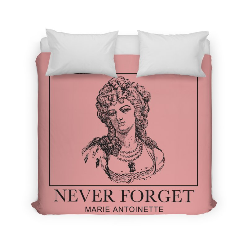 Never Forget Home Duvet by Mike Hampton's T-Shirt Shop