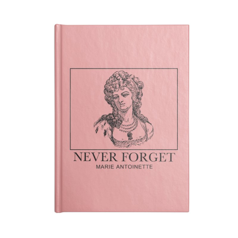 Never Forget Accessories Notebook by Mike Hampton's T-Shirt Shop