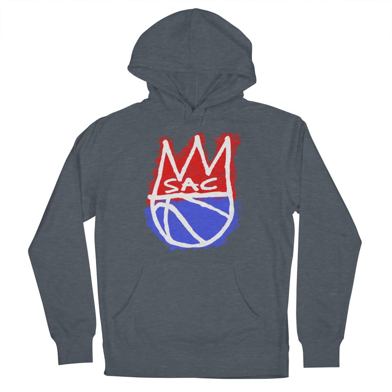 Basquait Kings 1 Men's French Terry Pullover Hoody by Mike Hampton's T-Shirt Shop