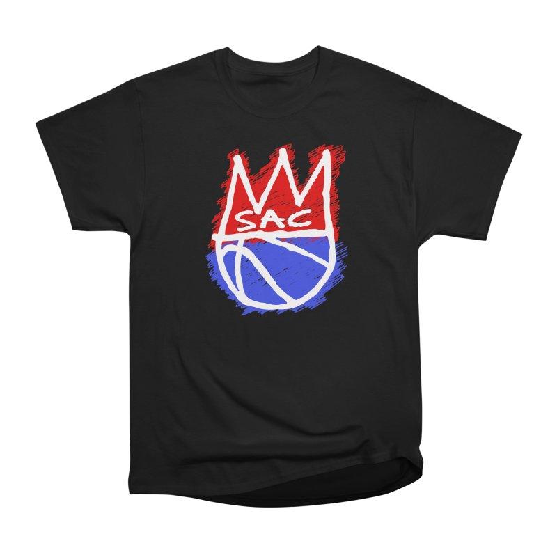 Basquait Kings 1 Women's Heavyweight Unisex T-Shirt by Mike Hampton's T-Shirt Shop