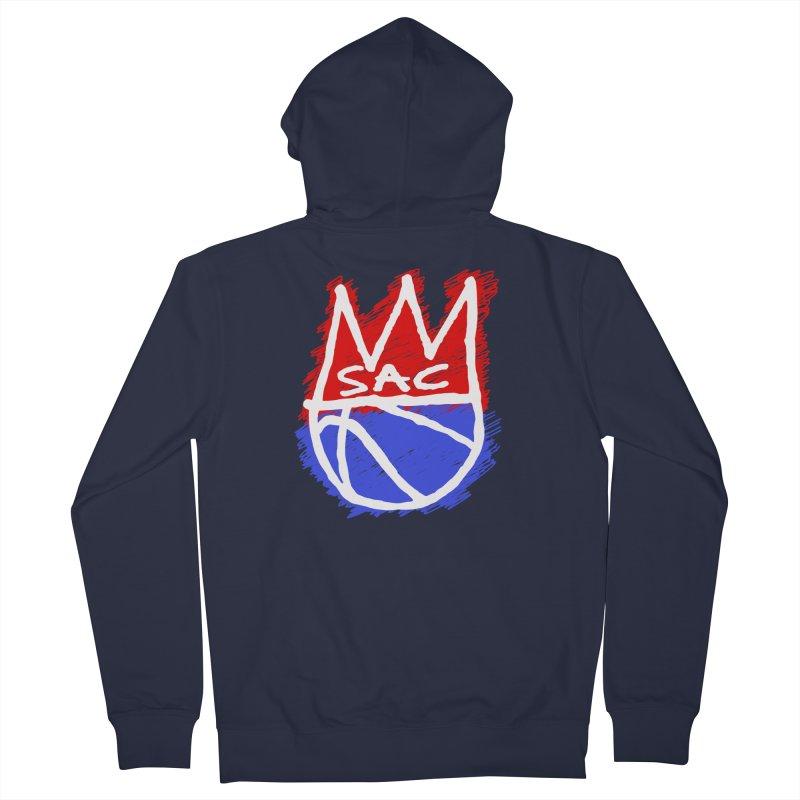 Basquait Kings 1 Women's French Terry Zip-Up Hoody by Mike Hampton's T-Shirt Shop