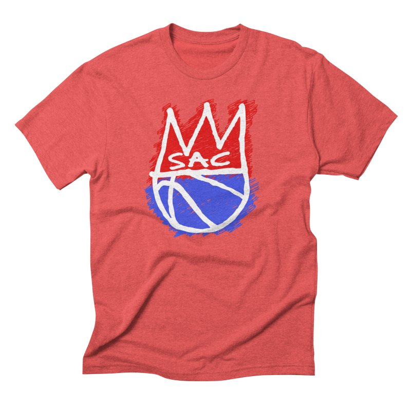 Basquait Kings 1 Men's Triblend T-Shirt by Mike Hampton's T-Shirt Shop