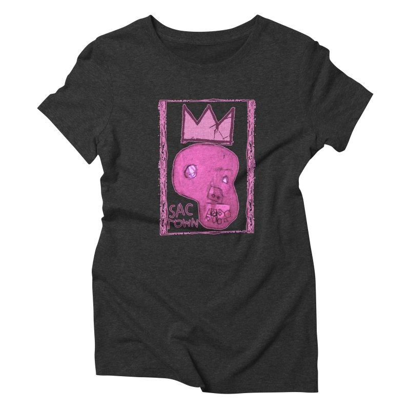 Basquait Kings 2 Women's Triblend T-Shirt by Mike Hampton's T-Shirt Shop