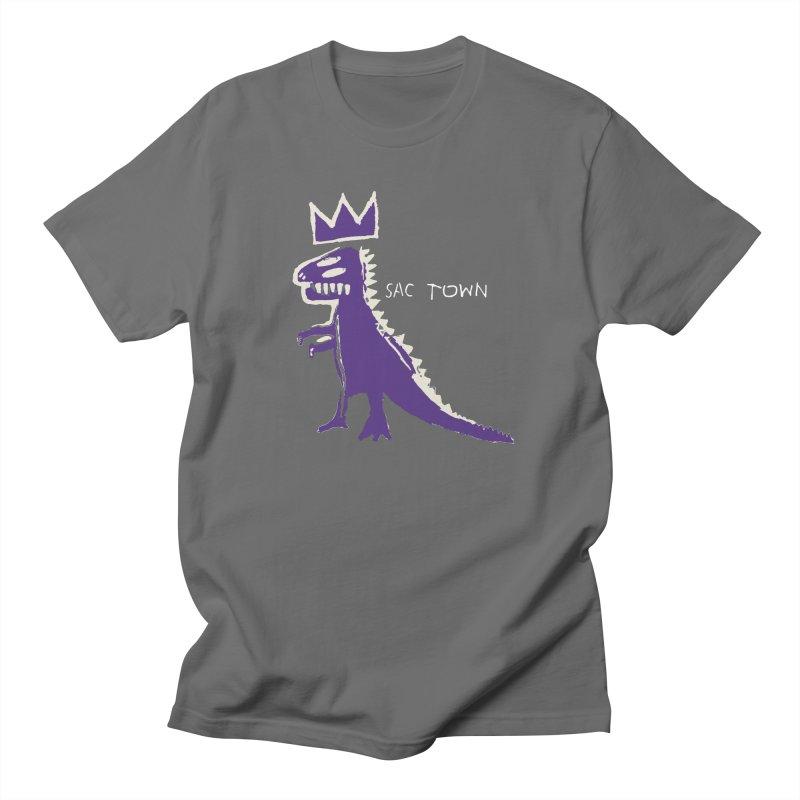 Basquiat Kings 3 Men's T-Shirt by Mike Hampton's T-Shirt Shop