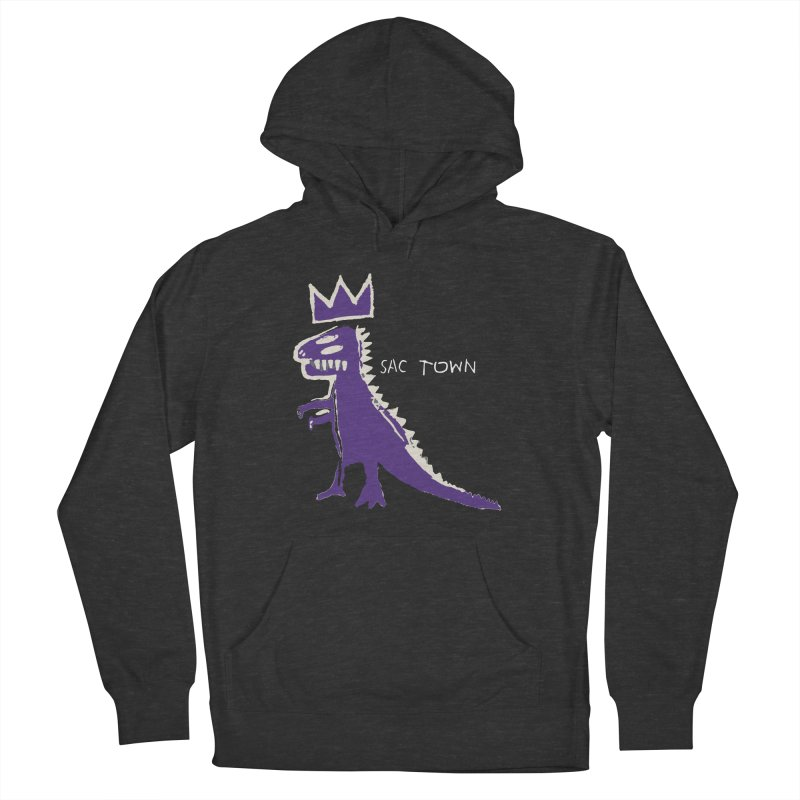 Basquiat Kings 3 Women's French Terry Pullover Hoody by Mike Hampton's T-Shirt Shop