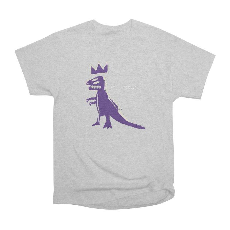 Basquiat Kings 3 Men's Heavyweight T-Shirt by Mike Hampton's T-Shirt Shop