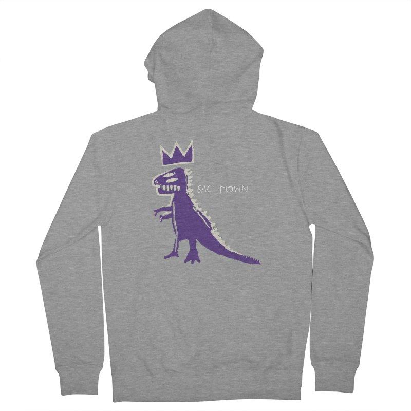 Basquiat Kings 3 Women's French Terry Zip-Up Hoody by Mike Hampton's T-Shirt Shop