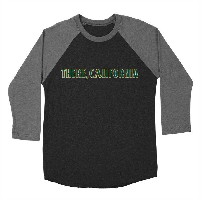 There, California Women's Baseball Triblend Longsleeve T-Shirt by Mike Hampton's T-Shirt Shop