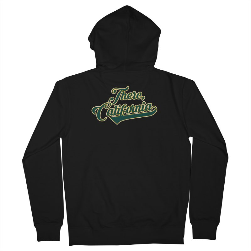 There, California 2 Men's French Terry Zip-Up Hoody by Mike Hampton's T-Shirt Shop