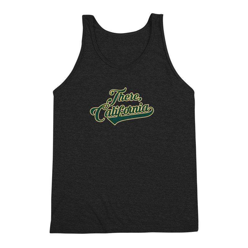 There, California 2 Men's Triblend Tank by Mike Hampton's T-Shirt Shop