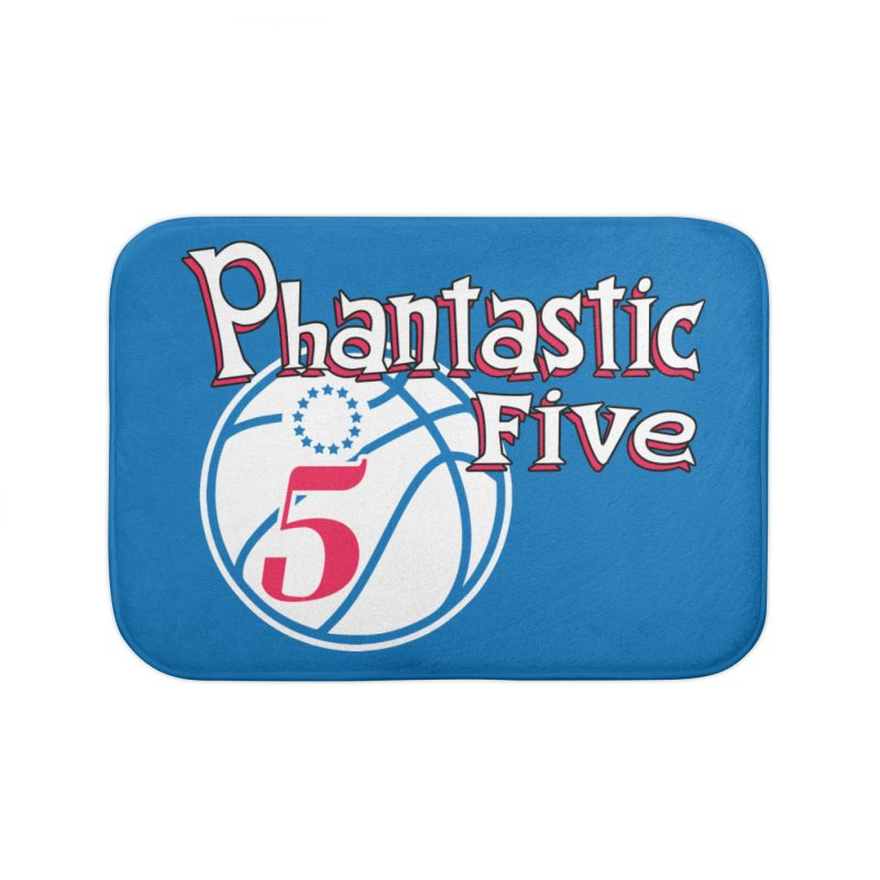 Philly's Greatest Starting Five! Home Bath Mat by Mike Hampton's T-Shirt Shop