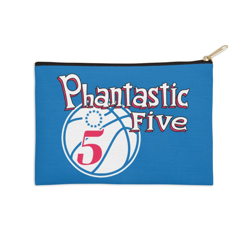 Philly's Greatest Starting Five! Accessories Zip Pouch by Mike Hampton's T-Shirt Shop
