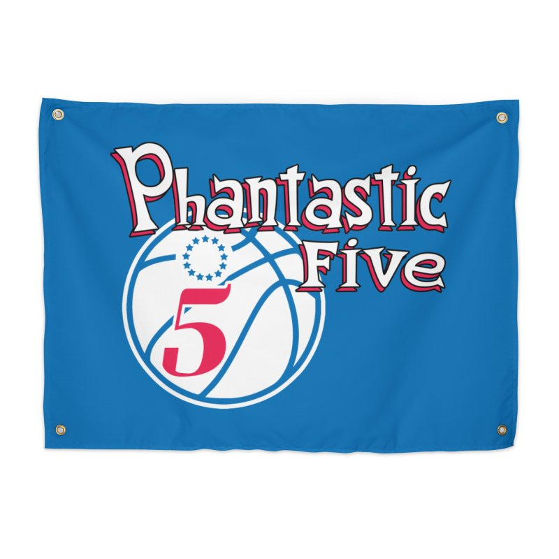 Philly's Greatest Starting Five! Home Tapestry by Mike Hampton's T-Shirt Shop