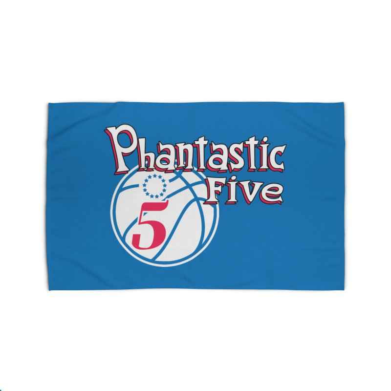 Philly's Greatest Starting Five! Home Rug by Mike Hampton's T-Shirt Shop