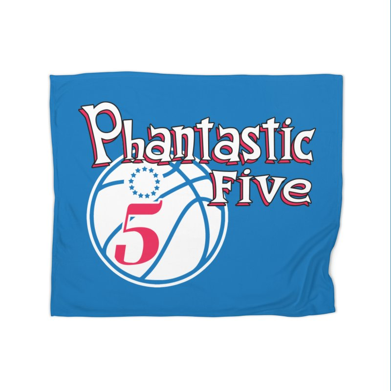 Philly's Greatest Starting Five! Home Blanket by Mike Hampton's T-Shirt Shop
