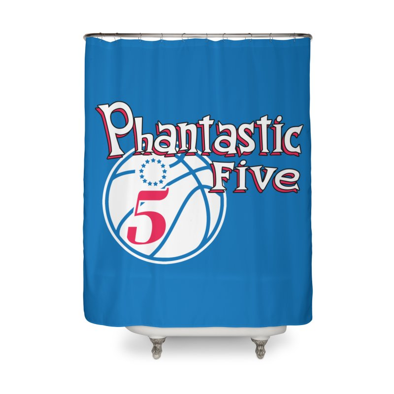Philly's Greatest Starting Five! Home Shower Curtain by Mike Hampton's T-Shirt Shop