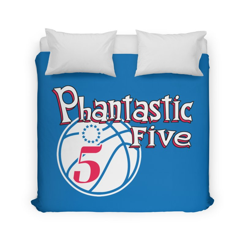 Philly's Greatest Starting Five! Home Duvet by Mike Hampton's T-Shirt Shop