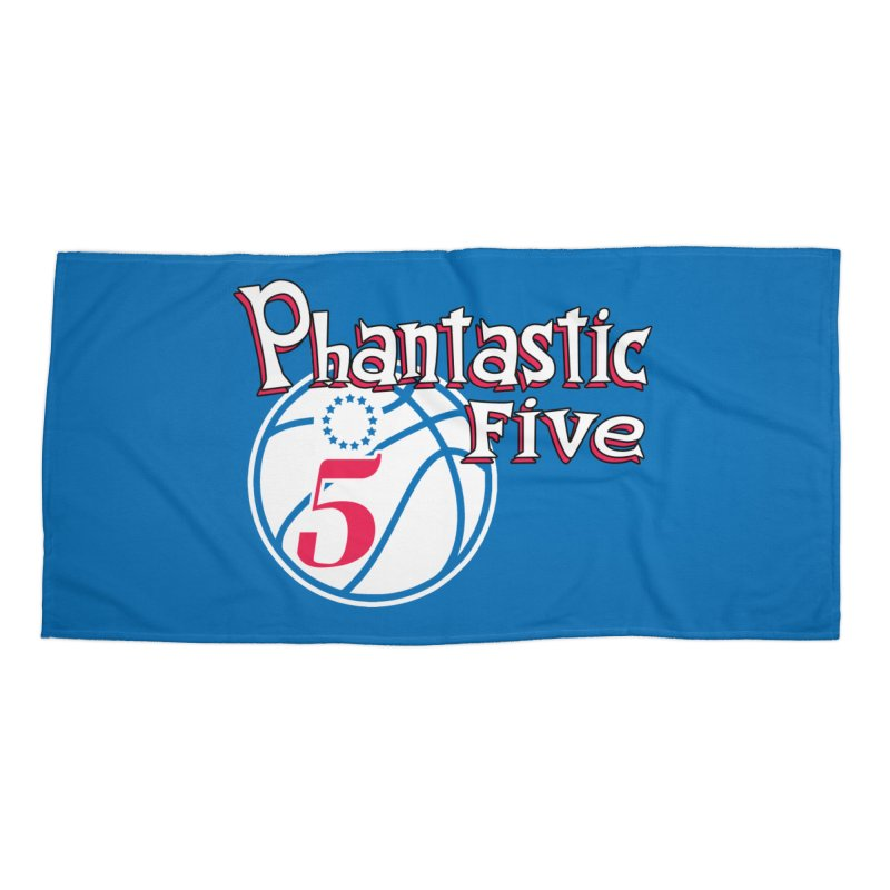 Philly's Greatest Starting Five! Accessories Beach Towel by Mike Hampton's T-Shirt Shop