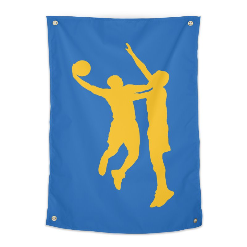 The Dunk Home Tapestry by Mike Hampton's T-Shirt Shop