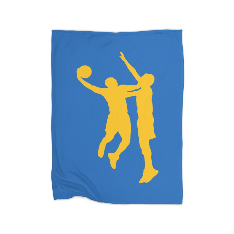 The Dunk Home Blanket by Mike Hampton's T-Shirt Shop