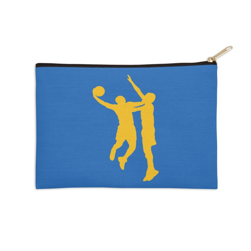 The Dunk Accessories Zip Pouch by Mike Hampton's T-Shirt Shop