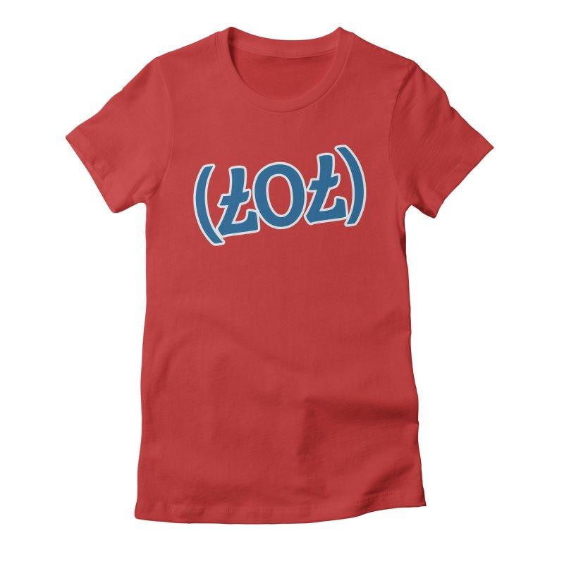 707/LOL Women's Fitted T-Shirt by Mike Hampton's T-Shirt Shop