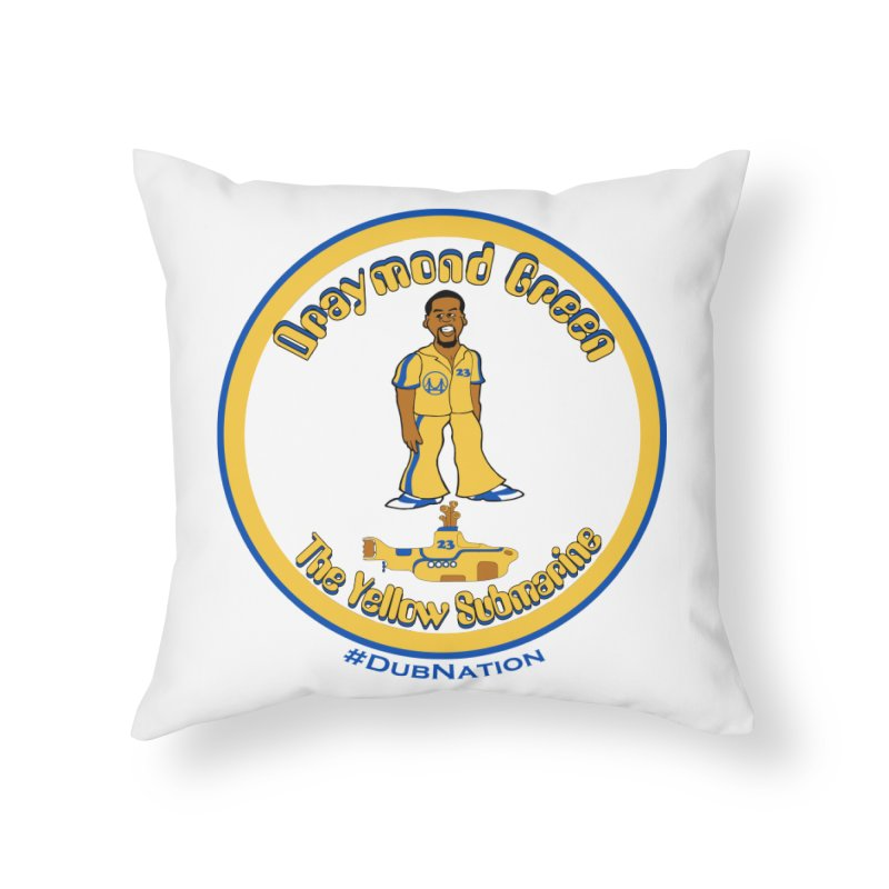 In the town, where I was born... Home Throw Pillow by Mike Hampton's T-Shirt Shop