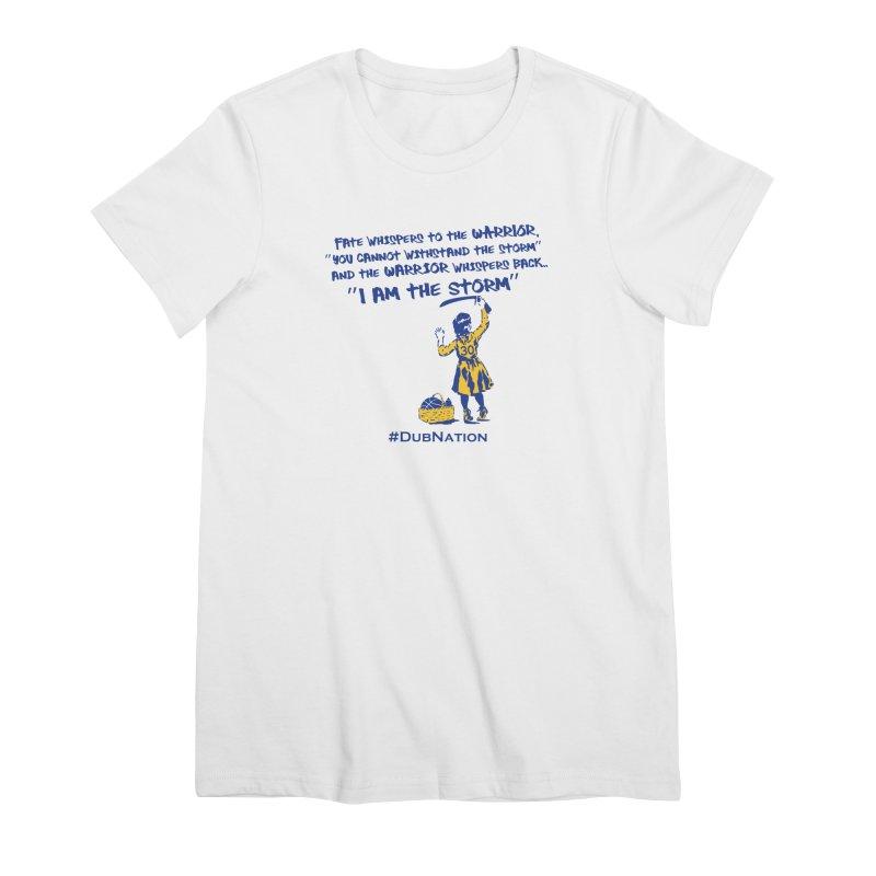 I am the Storm Women's Premium T-Shirt by Mike Hampton's T-Shirt Shop