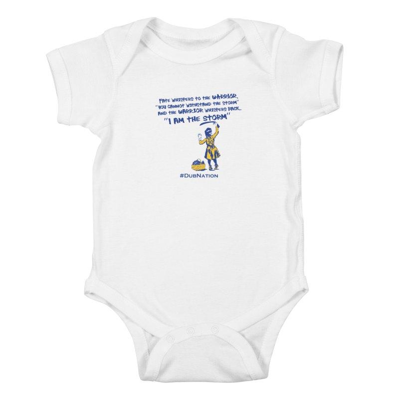 I am the Storm Kids Baby Bodysuit by Mike Hampton's T-Shirt Shop