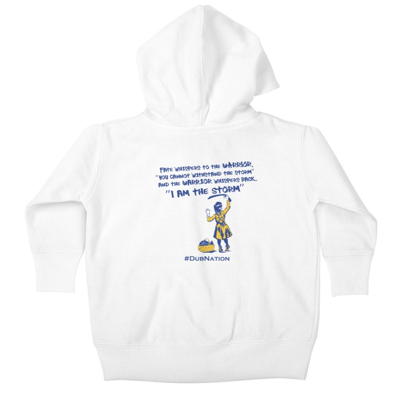 I am the Storm Kids Baby Zip-Up Hoody by Mike Hampton's T-Shirt Shop