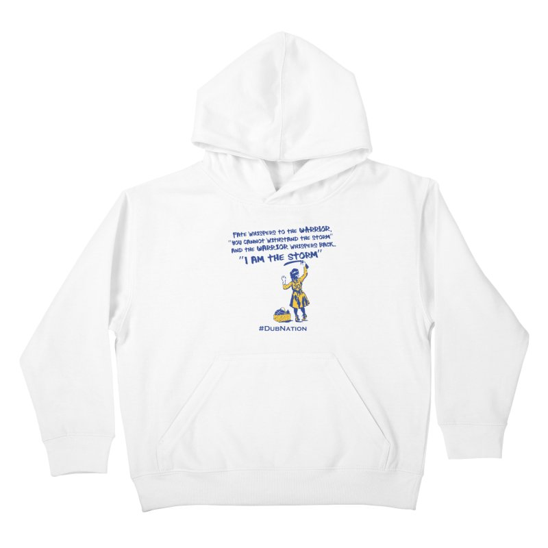 I am the Storm Kids Pullover Hoody by Mike Hampton's T-Shirt Shop