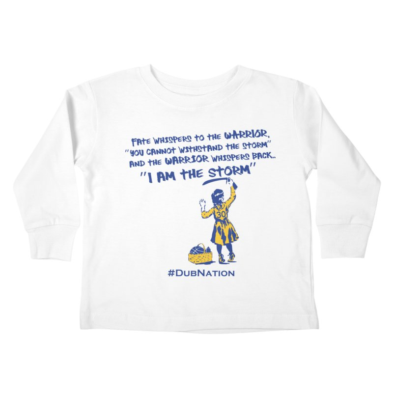 I am the Storm Kids Toddler Longsleeve T-Shirt by Mike Hampton's T-Shirt Shop