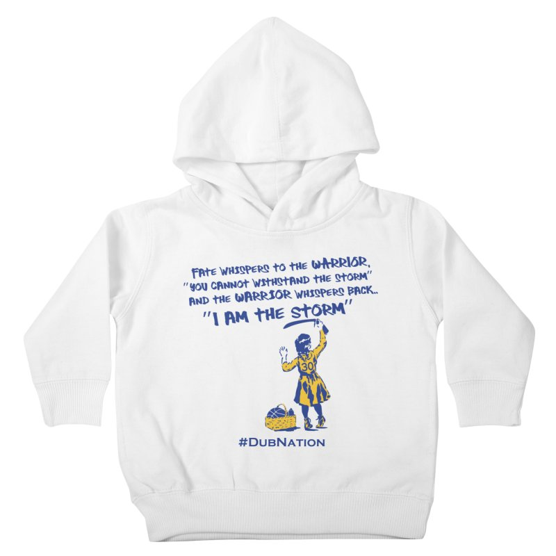 I am the Storm Kids Toddler Pullover Hoody by Mike Hampton's T-Shirt Shop