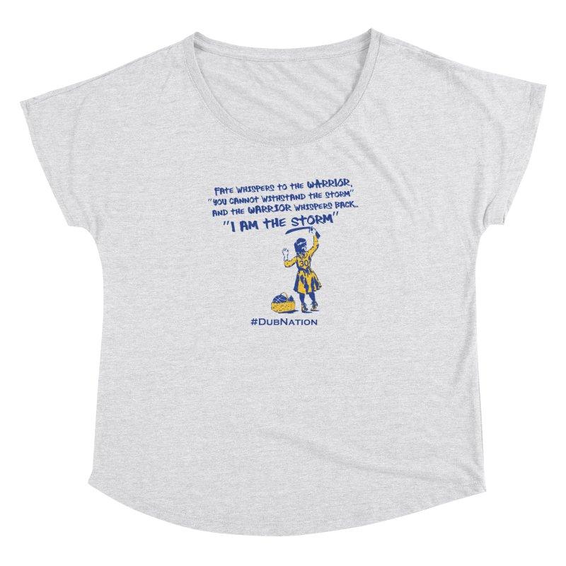 I am the Storm Women's Dolman Scoop Neck by Mike Hampton's T-Shirt Shop