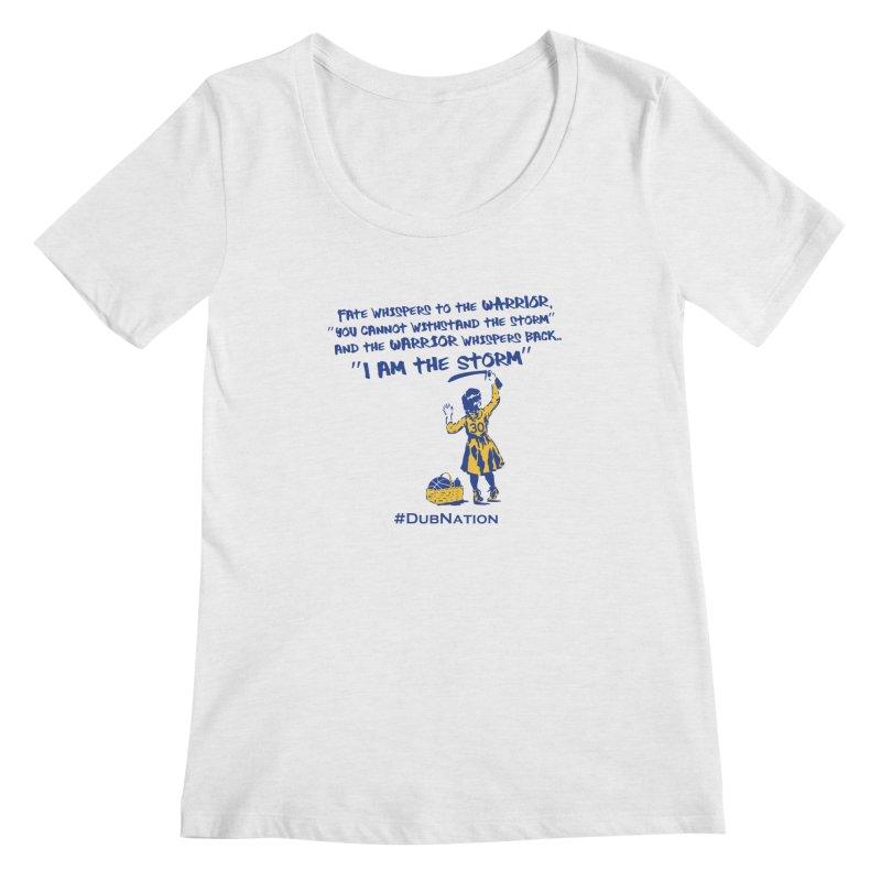 I am the Storm Women's Regular Scoop Neck by Mike Hampton's T-Shirt Shop